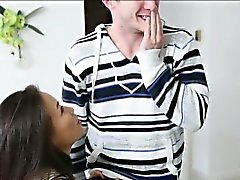 Big butt asian teen Kalina Ryu pussy filled with hot cumload