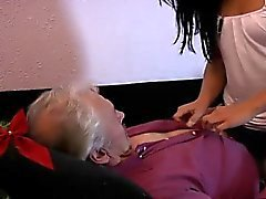 Bbc bbw blowjob interracial Bruce a sloppy old man likes to