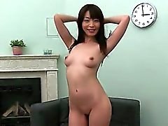 korean girl likes deep fucking on couch