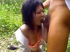 Mai Shimada endures rough fucking porn show