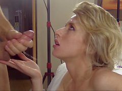 Cock-Craving College Babe Gets A Fat & Rock-Hard Dick