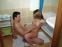Bathroom teen fuck Toccara from dates25com