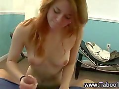 stepdaughter teen cock playing naked