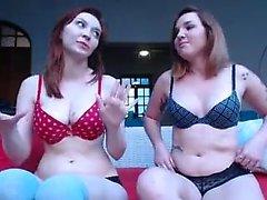 Wild teen striptease webcam video