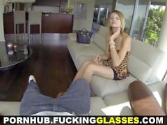 Fucking Glasses - Nice pussy for some random fun