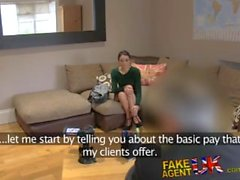 Brit Agent Fucks Her Hard