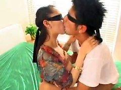Cute asian teen doggystyle sex