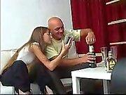 Skinny Amateur Russian Teen gets Drunk