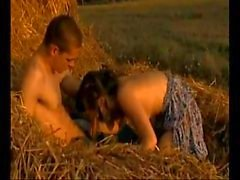stepbrother stepsister fuck on hayloft