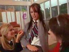 Horny Schoolgirls CFNM Cock Teasing