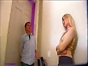 Teen stepmom gets caught by the camera