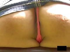 Asian Teens Upskirt - Thong Not In The Right Place Let Us See Ass & Pussy 5