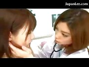 Asian Girl Getting Her Tongue Sucked Kissing Armpit Licked Tits Rubbed By The Doctor At The Surgery