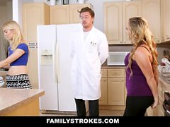 FamilyStrokes Mom And Sister Hypnotized And Fucked