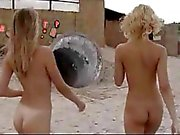 Public Nudity 2 Babes At The Beach