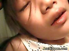 Asami Fujimoto Lovely Asian doll enjoys