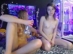 Teen Lesbians Webcam Show