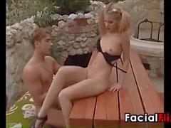 Teen Girl Having Sex Outside