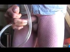 girl teen busty pantyhose pumping vacuum mature anal sextoy