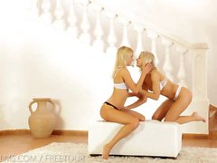 Nubile Films - Lesbian lovers crave the taste of pussy
