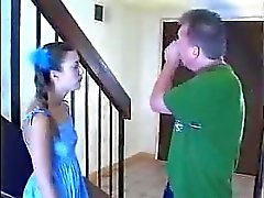 Young Babysitter Fucked By Midget
