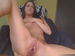 Amazing Girl Masturbates