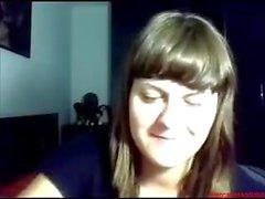#0383 - Skype girl having fun