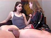 Lesbian Blowjob