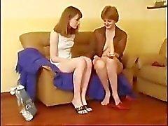 Cute teens lesbian