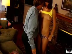 Seducing him and riding his cock