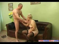 Russian Amateur Mom Goes Wild 14