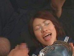 Japanese schoolgirl bukkae