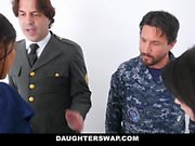 DaughterSwap - Militant Daddy's And Daughter Play Date