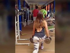 Big ass leggings Fitness booty teen Gym