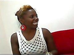 Sexy Ebony Sluts Share A Cock To