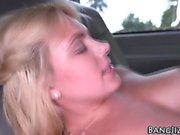 Teen slut gets cumshot