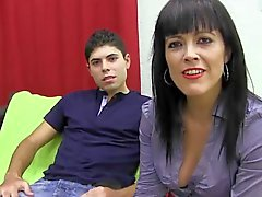 PUTA LOCURA Hot Mature Latina likes young gun