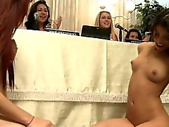 Dyke college teen amateurs muff diving