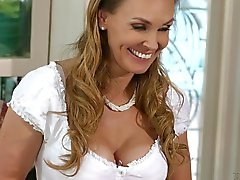 Scarlet Red And Tanya Tate Old And Young Lesbian Scene