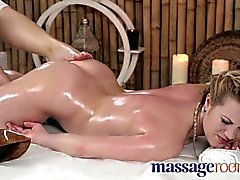 Massage Rooms - Young innocent lesbian