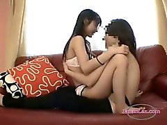 Young Skinny Asian Getting Her Hairy Pussy Licked
