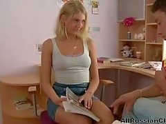 Anal With Russian Teen Blonde