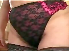 Hairy Squirting Mature fuck 3 young guys in all positions