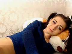 Tiny beauty Teen Loves Huge Toys