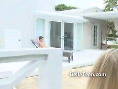 Brandi Belle teen pornstar group fun