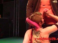 Nerea Falco y Eric Manly follando en el SEM 2016