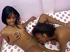 Lesbian Ebony Amateurs