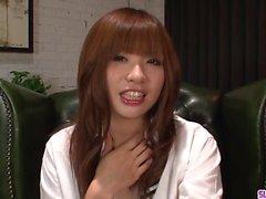 Teen Mami Yuuki jizzed on face after serious blowjob