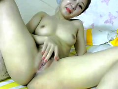 Amateur Hairy Asian College Teen