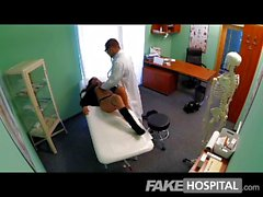 FakeHospital - Teen model cums with tattoo